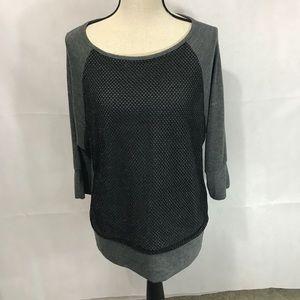 AB Studios 3/4 length sleeve shirt Size Large